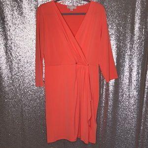 Michael Kors Long Sleeve Jersey Dress